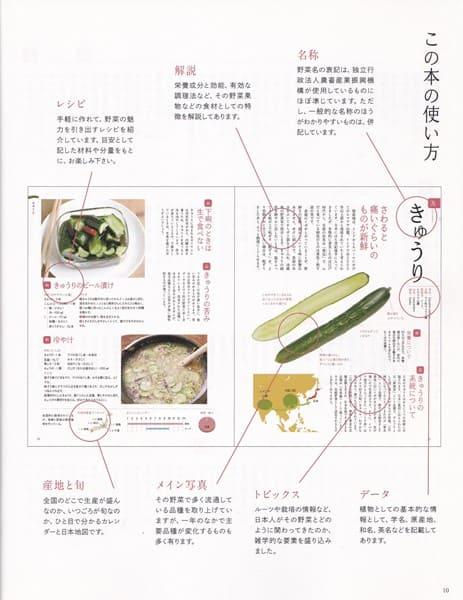 新・野菜の便利帳 使い方